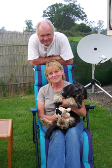 Mike, Diane & Sammy (the dog)!